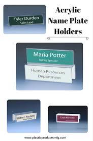 más de 25 ideas increíbles sobre placas con los nombres de