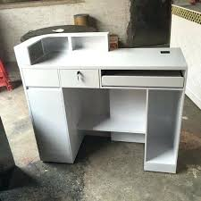 Hairdressers Reception Desk Small Receptionist Desk Small White Wholesale Beautiful Hair Salon