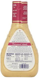 amazon com ken u0027s foods 1000 island sald dressing 16 oz