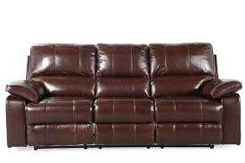 Power Sofa Recliners Leather by Ashley Transister Coffee Power Sofa Mathis Brothers Furniture