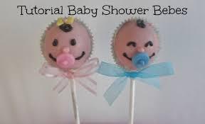 Cupcakes Para Baby Shower Ni Sin Fondant Tutorial Paletas De Pastel Baby Shower Caritas De Bebe Niño Y