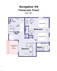 Tamarack Floor Plans by Bungalow 8 Tamarack Trout Brundage Bungalows