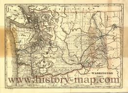 Picture Of Map Of Washington by Map Of Washington