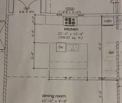 how to measure for an island countertop kitchen island size and position