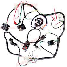 complete electrics atv quad 250cc 200cc 150cc cdi wire harness