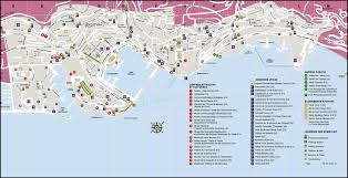 Travel Map Of Europe by Maps Of Monaco Detailed Map Of Monaco In English Tourist Map