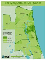 Jacksonville Florida Map Ponte Vedra Florida Among Most Affluent Areas Of Northeast Florida