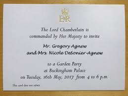 Death Anniversary Invitation Card New Zealander Finds Loophole To Get Into Queen U0027s Garden Party
