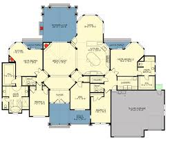 Floor Plans With 2 Master Suites Mountain Craftsman With 2 Master Suites 23648jd Architectural