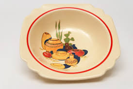 homer laughlin vintage vintage pottery kitchen kraft harlequin and