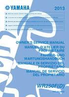 2013 yamaha wr250f u2013 owner u0027s manual u2013 232 pages u2013 pdf
