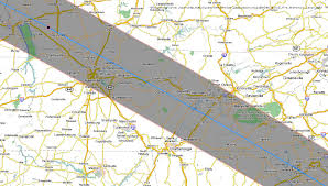 Map Of Franklin Tennessee by Total Solar Eclipse 2017 Maps Of The Path