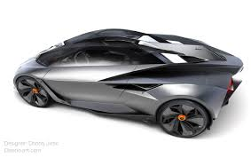 lamborghini concept car design student creates jet fighter inspired lamborghini concept