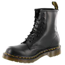 womens leather boots dr martens airwair air cushion sole durable leather boots free