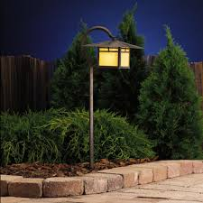 Kichler Outdoor Lighting Kichler Outdoor Path Light For Landscape Lighting Ideas
