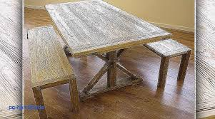 table et banc de cuisine table banc bois pliable pour decoration en table de bois