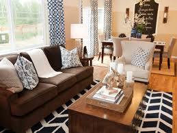 Curtains For Brown Living Room Option Curtains For Living Room With Brown Furniture