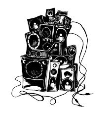 boombox art print soltusom pinterest sketches