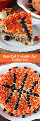 m u0026m basketball chocolate chip cookie cake life love and sugar