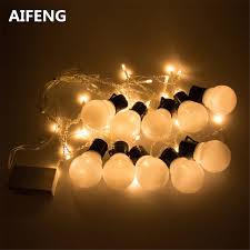Fairy Lights For Bedroom - aifeng 5cm party ball string fairy lights for bedroom balls bulb