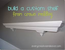 Wood Shelf Pictures by Best 25 Crown Molding Shelf Ideas On Pinterest Coat Hook Shelf