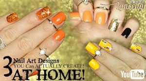 diy 3 cute u0026 easy halloween nail art you can actually do