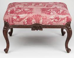 Ottoman Red by C 1850 Overscale Large French Ottoman Or Bench For Sale At 1stdibs