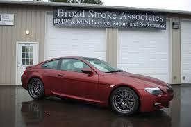 custom m6 bmw custom bmw m6 broad stroke associates