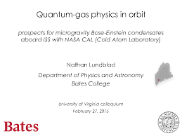 physics at the university of virginia colloquia history