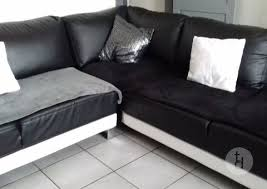 donne canapé d angle donne canapé d angle noir et blanc tous les dons en