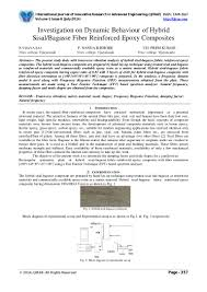 Dynamic Roofing Concepts by Investigation On Dynamic Behaviour Of Hybrid Sisal Bagasse Fiber Rein U2026