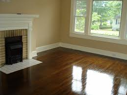 painted hardwood floor with wood trim diy flooring pinterest