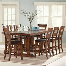 9pc dining room set ziva counter height dining 9 piece set sam s club