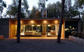 resort home design interior omnibus house by gubbins arquitectos