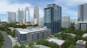 The Azure Floor Plan by Floor Plans Of Azure On The Park In Atlanta Ga