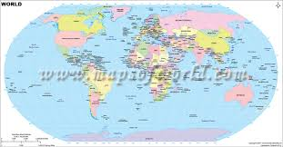 world cities on map world largest cities map