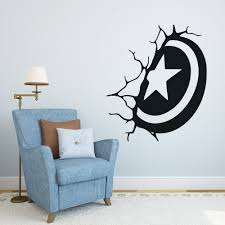 online get cheap shield home aliexpress alibaba group captain america shield wall decal superhero sticker comics art home decoration stickers any room