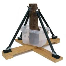 standtastic heavy duty plastic adjustable tree stand for trees up