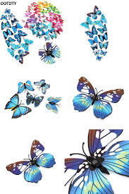 In The Night Garden Wall Stickers Best 25 Butterfly Wall Decor Ideas On Pinterest Wall Decoration