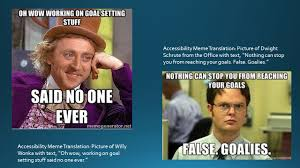 Dwight Meme - accessibility meme translation picture of dwight schrute from the
