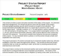project monthly status report template monthly status report template word monthly management report