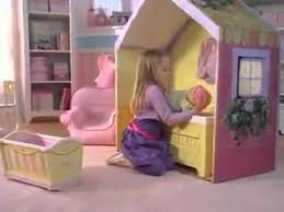Dream Town Rose Petal Cottage Playhouse by Hasbro U0027s Rose Petal Cottage Commercial 1 Youtube