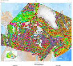 Map Of Canada by 173 Magnetic Anomaly Map Of Canada 2015 Science Gc Ca