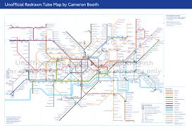 Link Light Rail Map What If London U0027s Tube Map Was Just Well Better Citymetric
