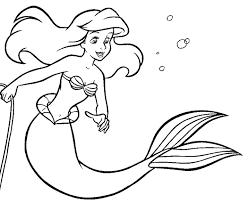 Meilleur De Disney Coloriages Ariel  Coloriages à Imprimer