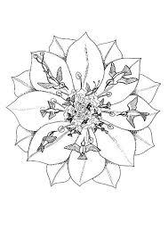 free printable mandala coloring pages title christmas mandala