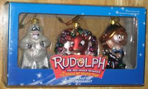 rudolph the nosed reindeer island of misfit toys glass
