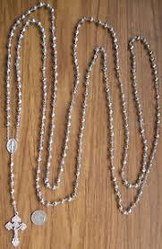20 decade rosary ring of rosebuds handmade catholic twenty 20 decade rosary