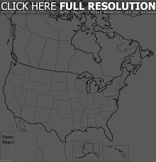 Labeled Map Of Us Abcteach Printable Worksheet Usa And Canada Outline Map Outline