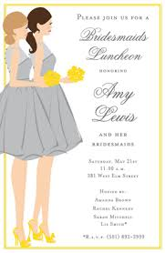 invitations for bridesmaids wedding bridal bridal shower bachelorette